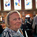Blanche at St. Edward's Church in Palm Beach, FL