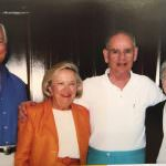 Bill, Blanche, Bill's brother, Harry, and his wife, Pat