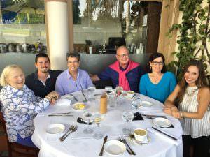 Family Dinner in Palm Beach